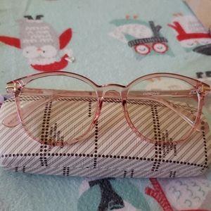 Retro vintage pink glasses